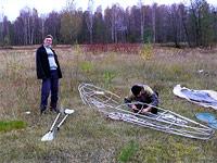 Гусь 2008. Осенний поход